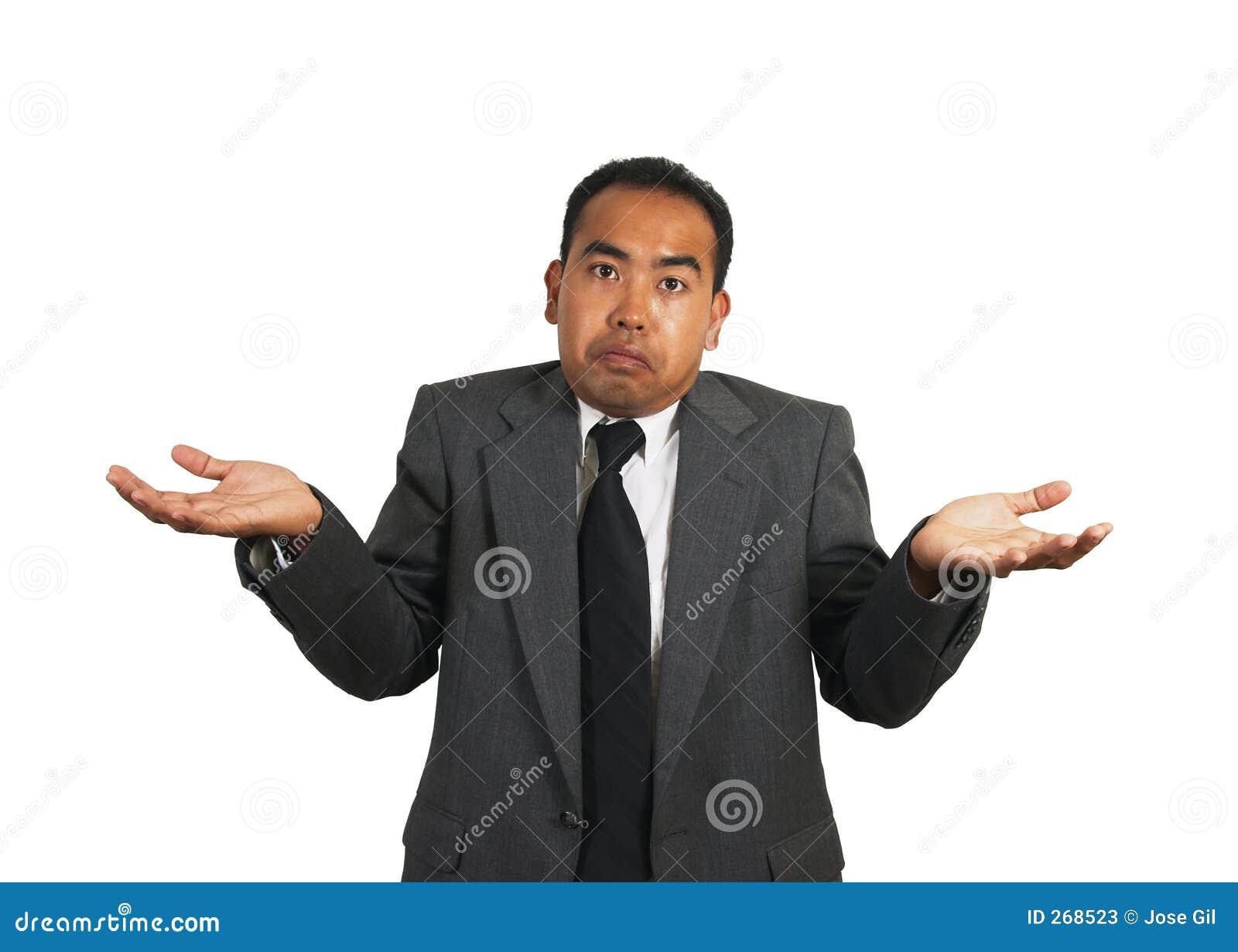 Asian / Asian-American / Filipino / Pilipino man in a business suit ...