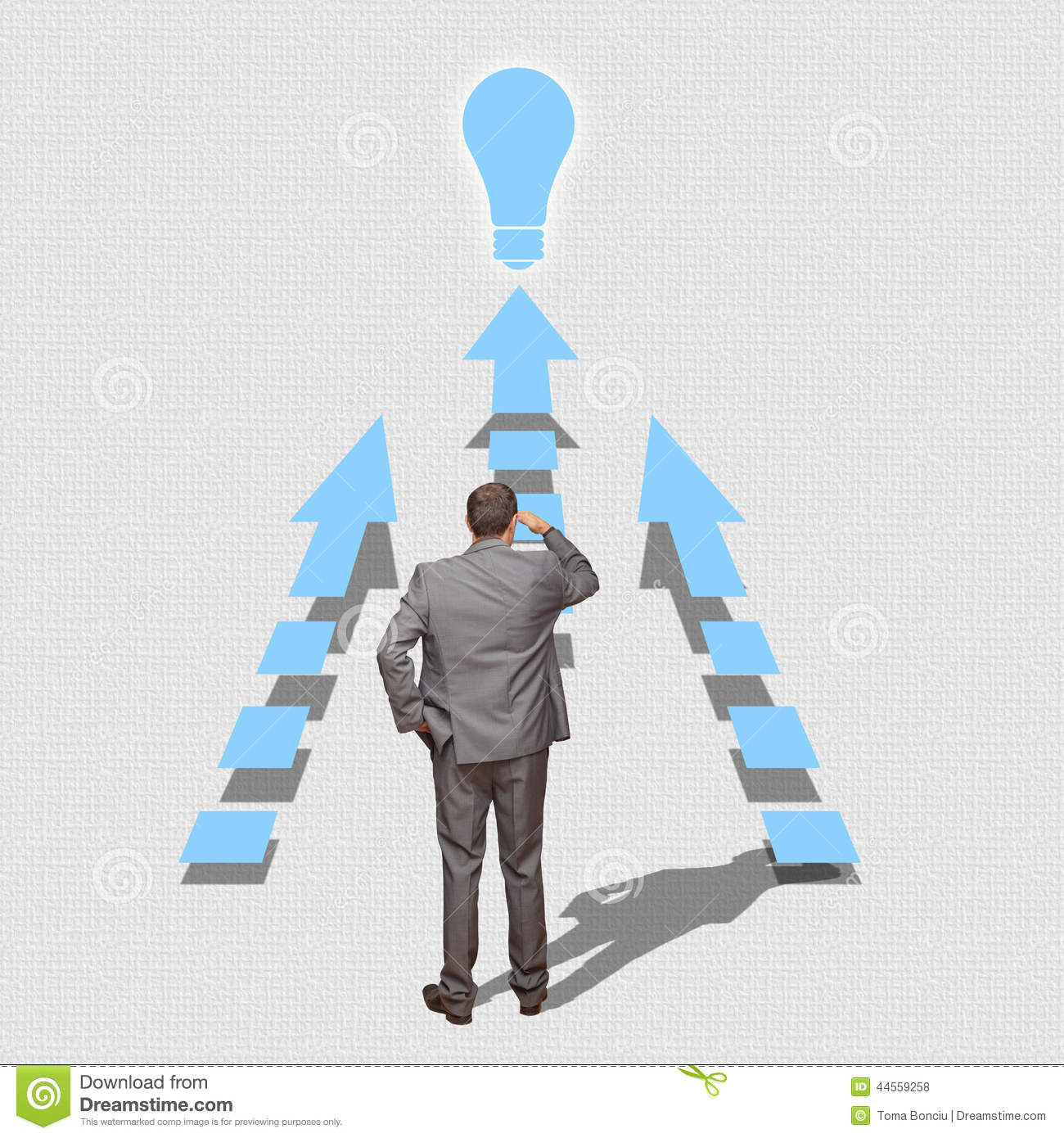 Business man looking ahead stock photo image of camera 55935000 business man solving problems looking ahead royalty free stock photos thecheapjerseys Gallery