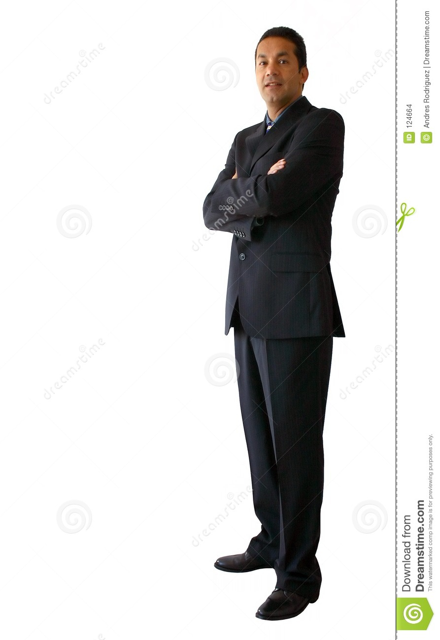 Business Man Standing 2 Stock Images - Image: 124664