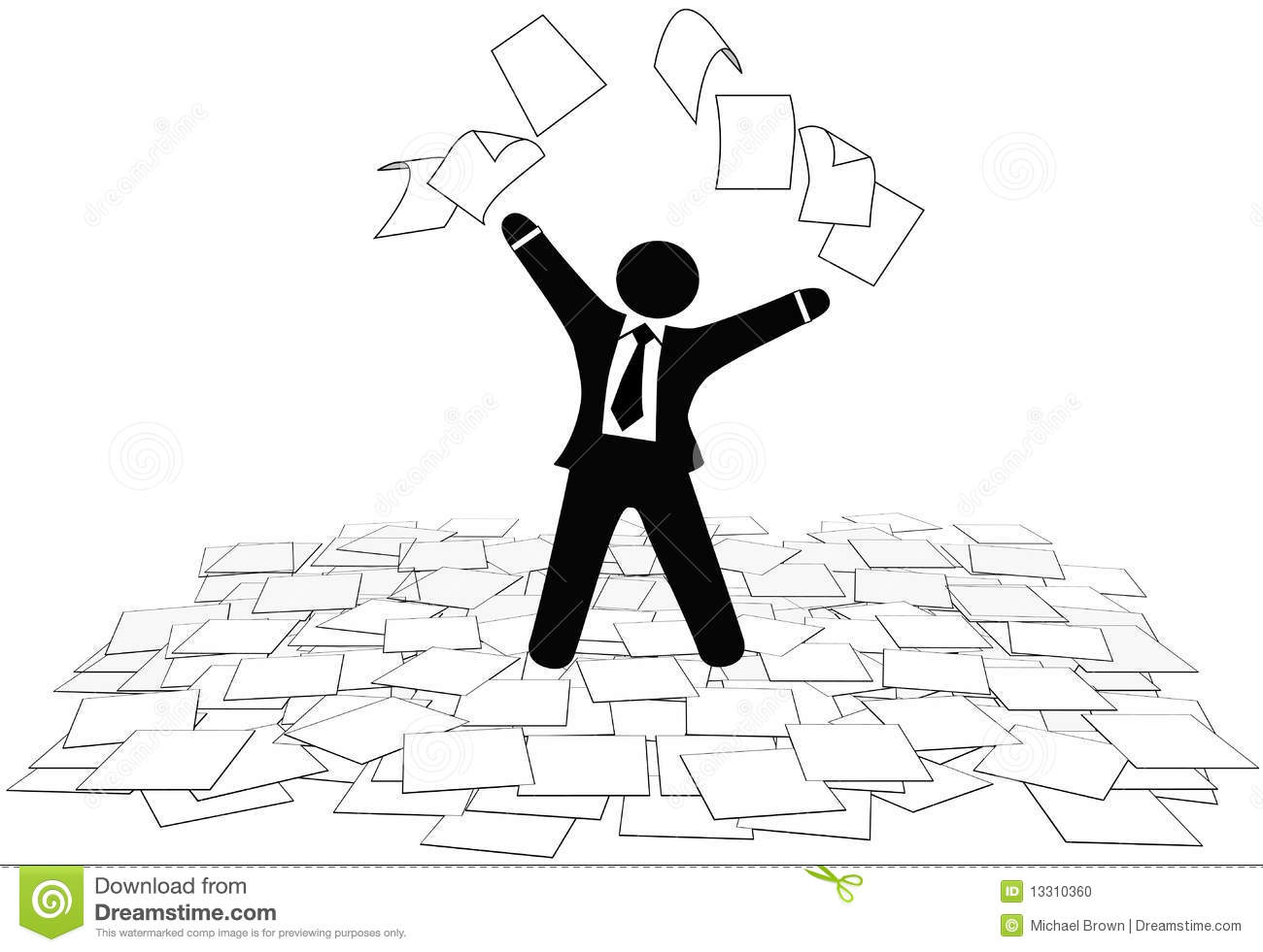 Stock Photo Business Man Throws Paper Work Pages To Air Floor Image13310360 on design floor plan symbol for audio