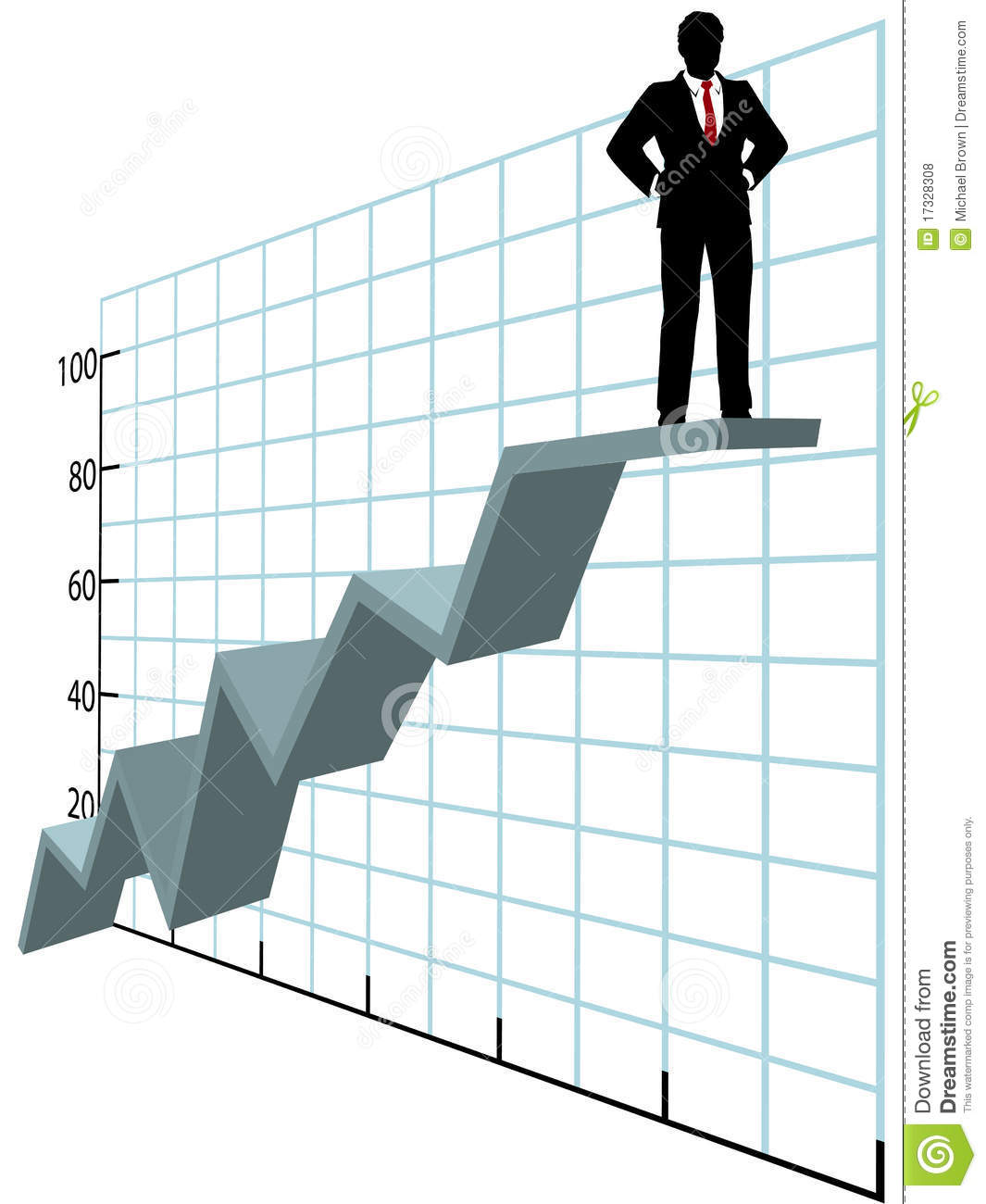 Business chart up business man up nvjuhfo Image collections