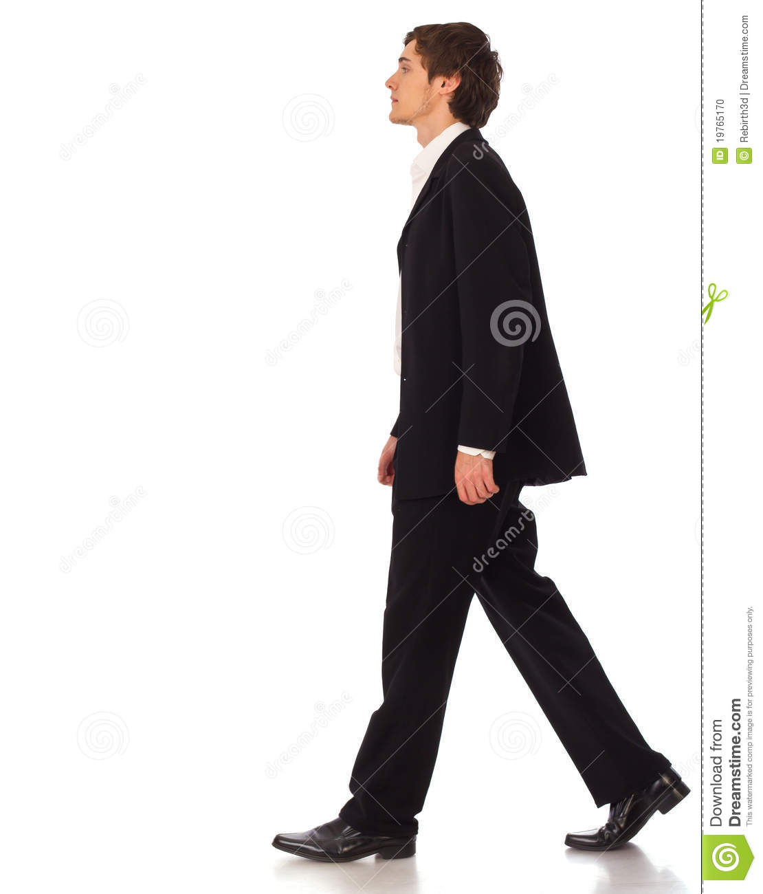 Business Man Walking Stock Photo - Image: 19765170