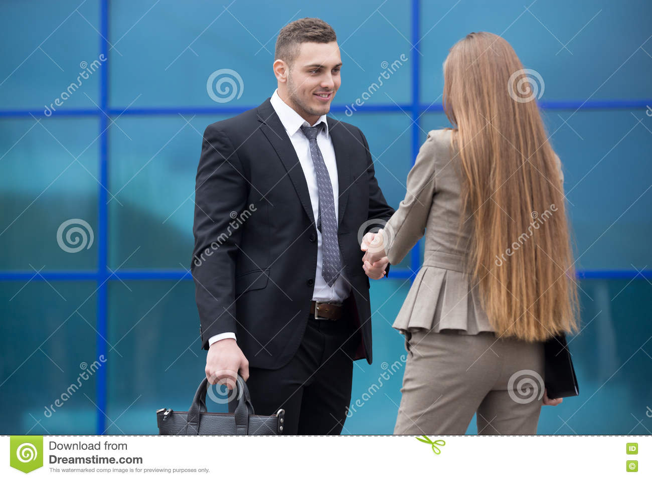 Business people handshake greeting deal at work photo free download - Agreement Business Businessman Businesspeople