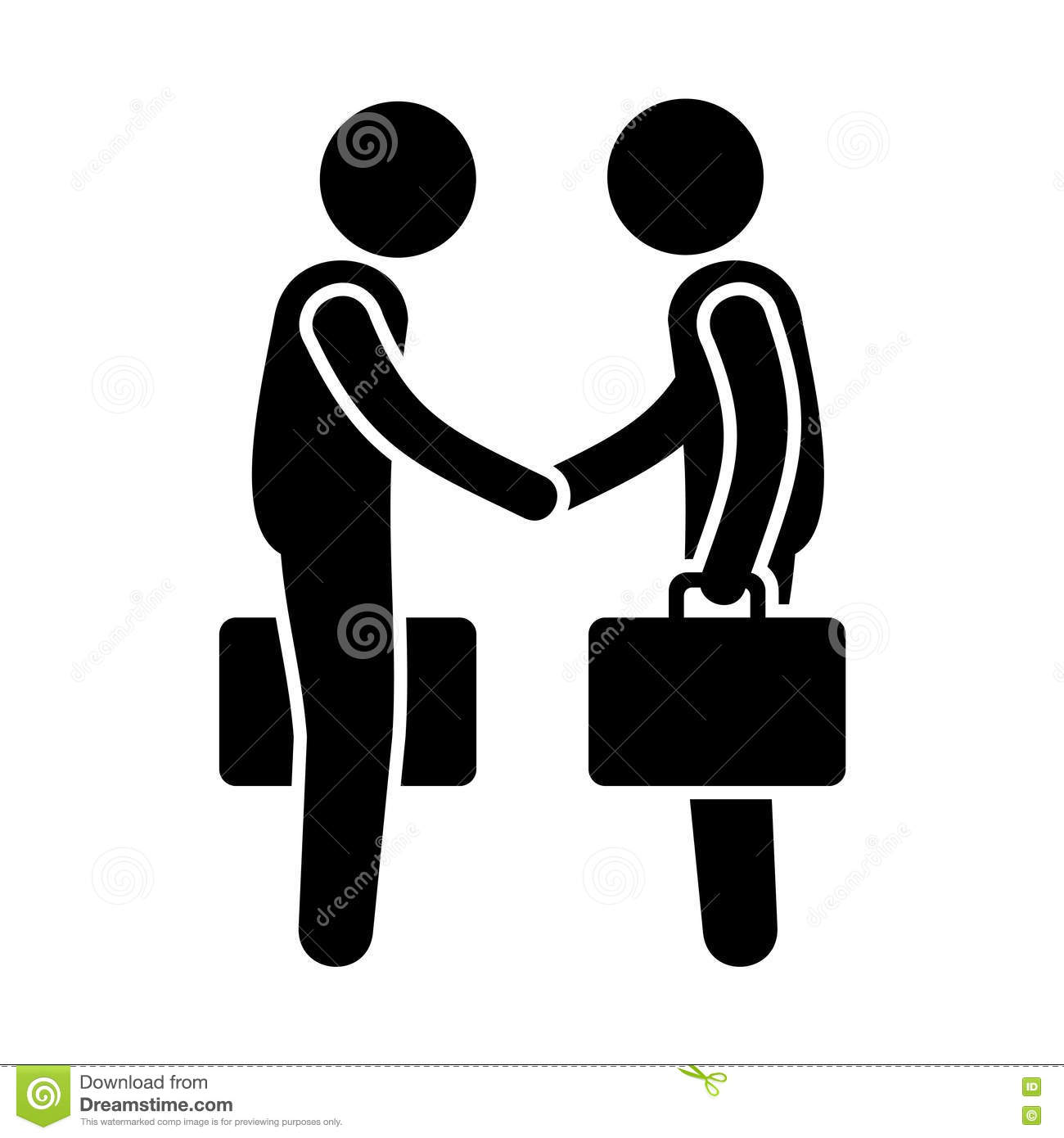 Business people handshake greeting deal at work photo free download - Business Figure Gesture Handshake Icon Pictogram Stick High Greeting Shake Embrace Person