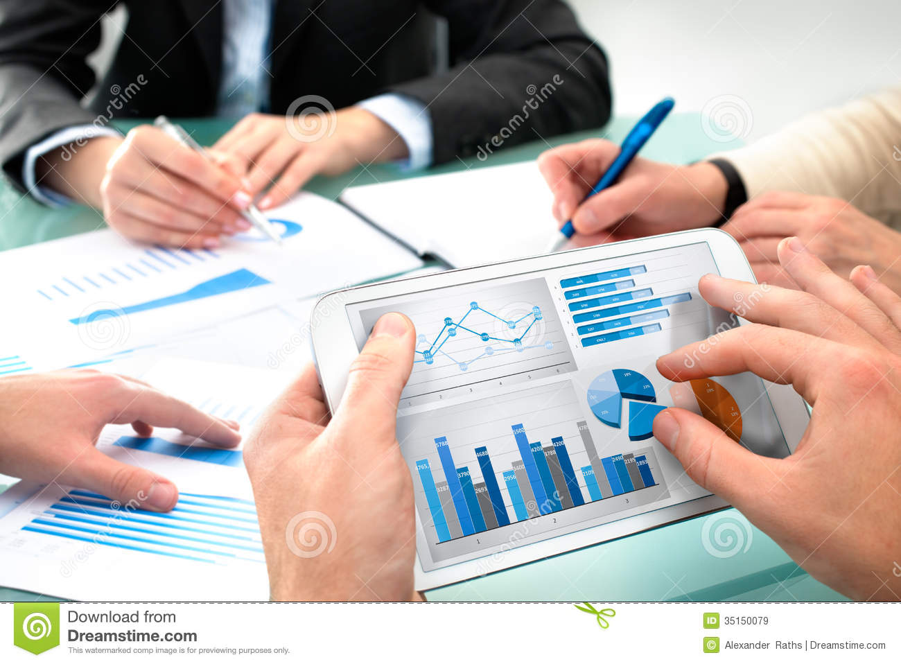 business meeting royalty free stock images - Business Documents