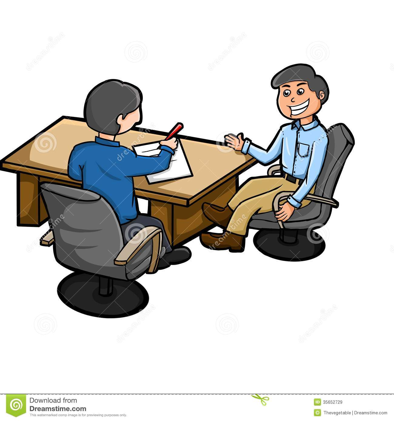Cartoon business meeting conference Royalty Free Vector |Business Meeting Cartoon Person