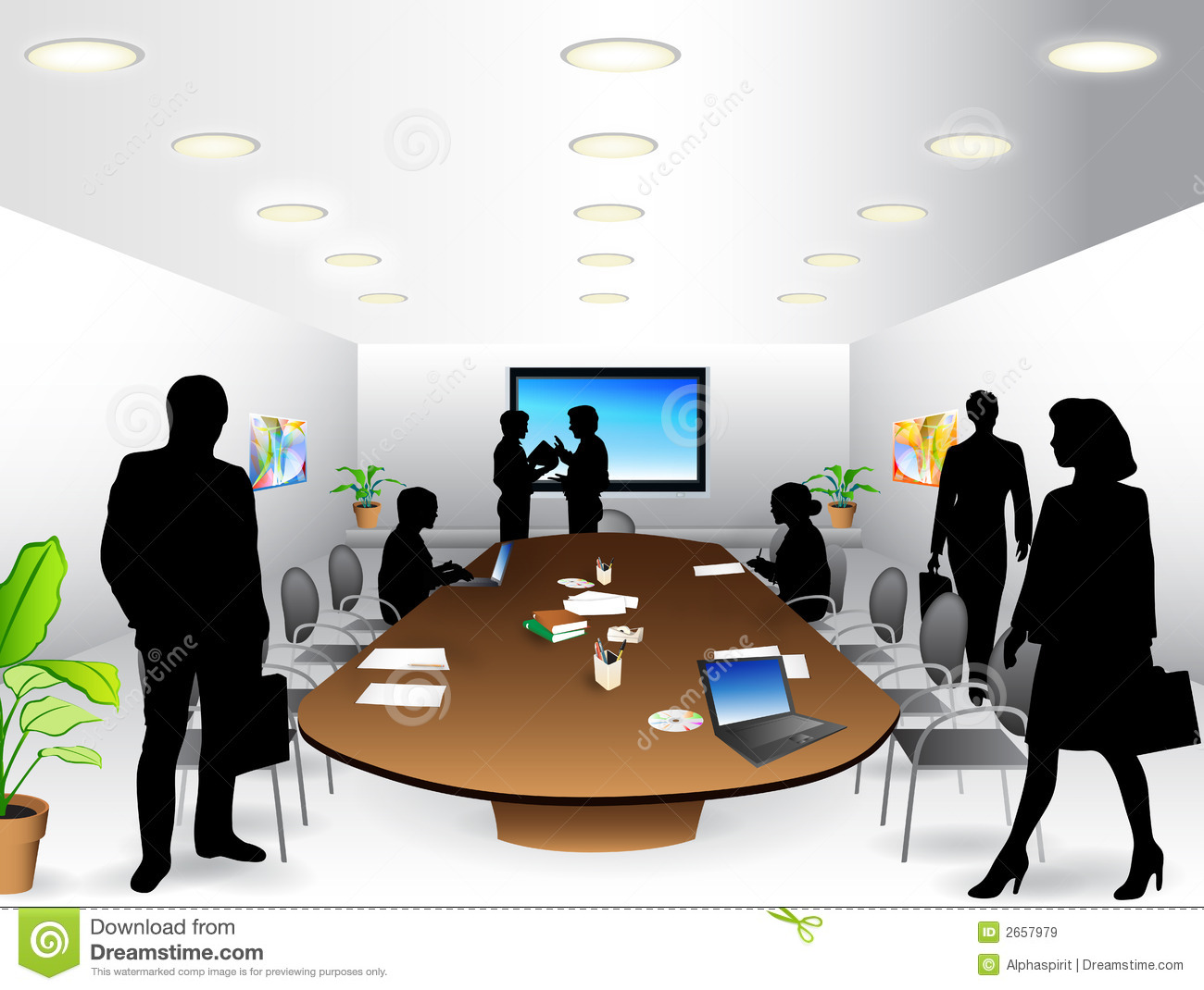 Office Meeting Clip Art | galleryhip.com - The Hippest Galleries!