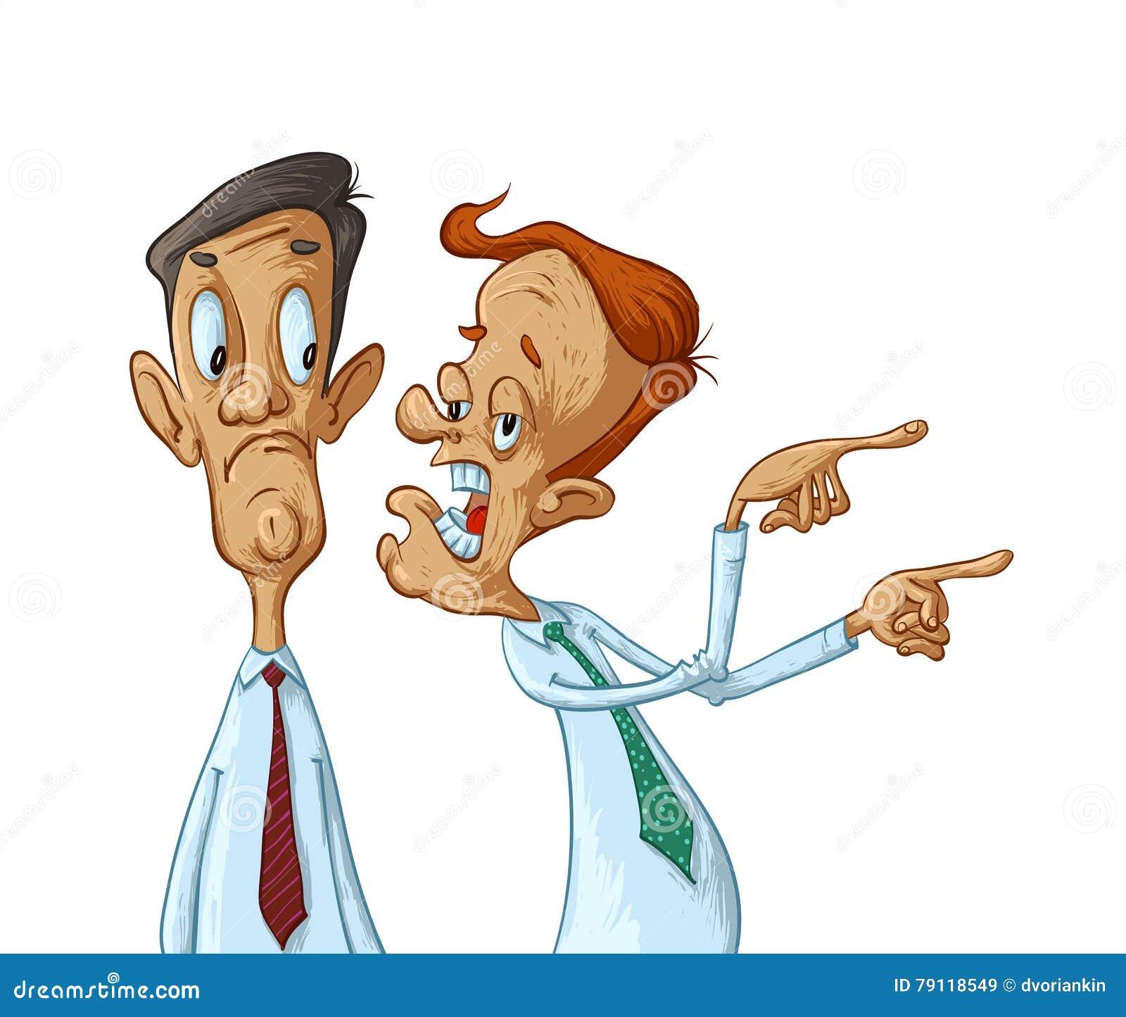 Business Men Gossiping Stock Vector Illustration Of
