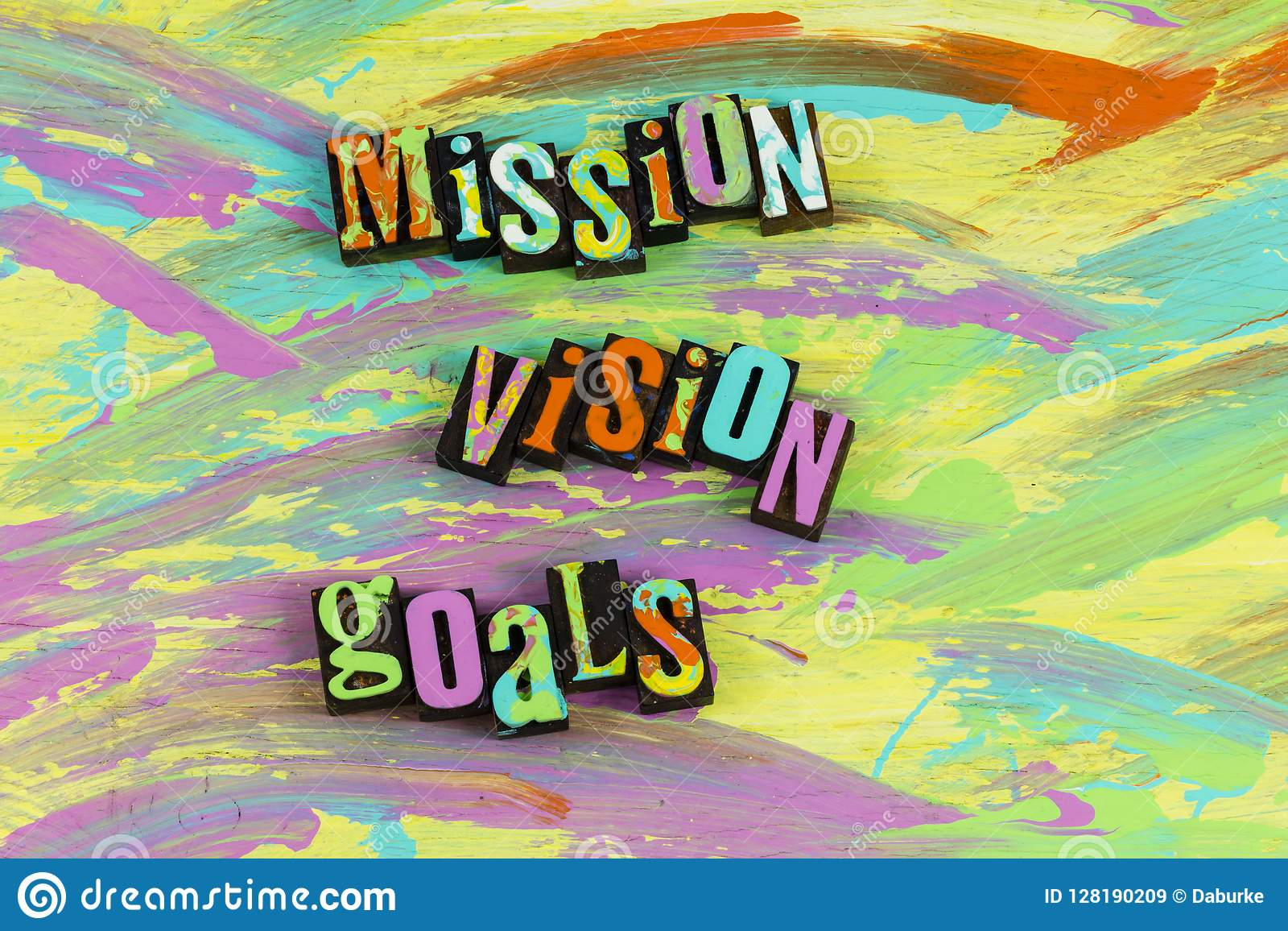 Mission vision goals completion successful