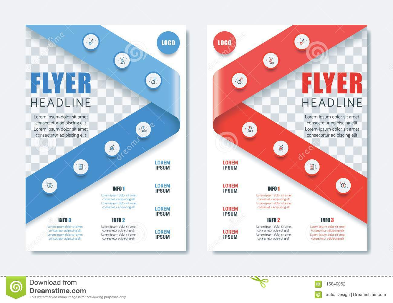 Cleaning Brochure Template | Business Modern Brochure Template Minimalist Clean Flyer Layout