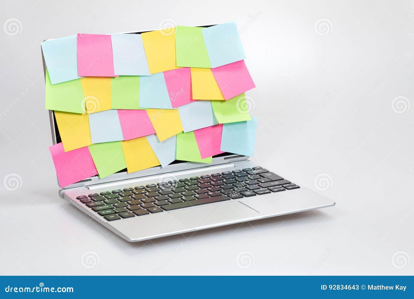 Business multitasking, ideas and organisation