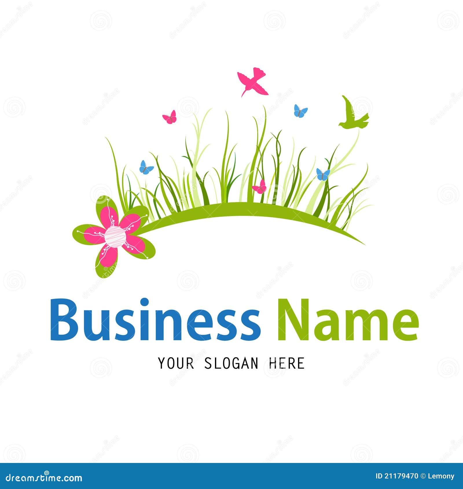 Business nature icon design