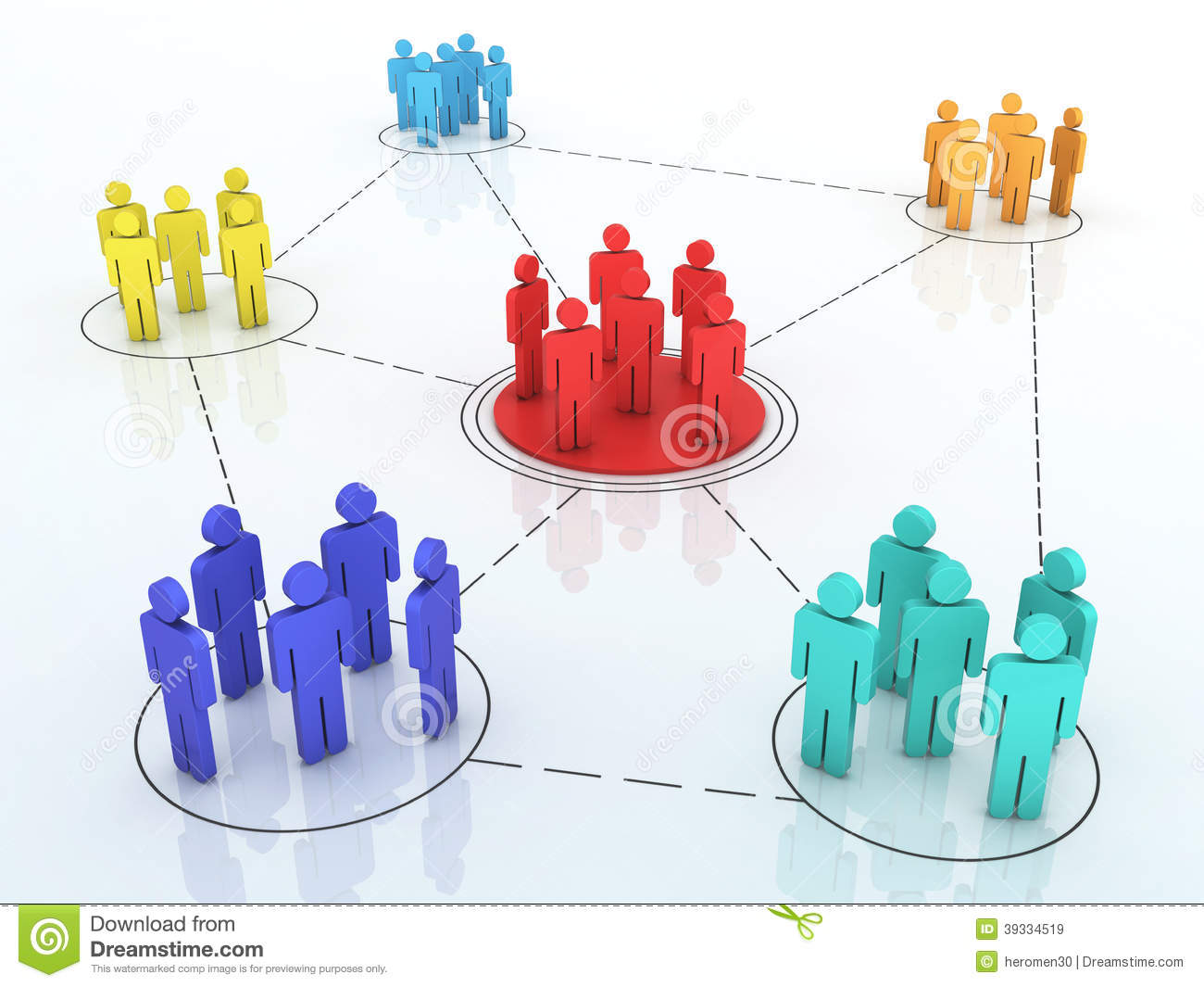 Business network graph