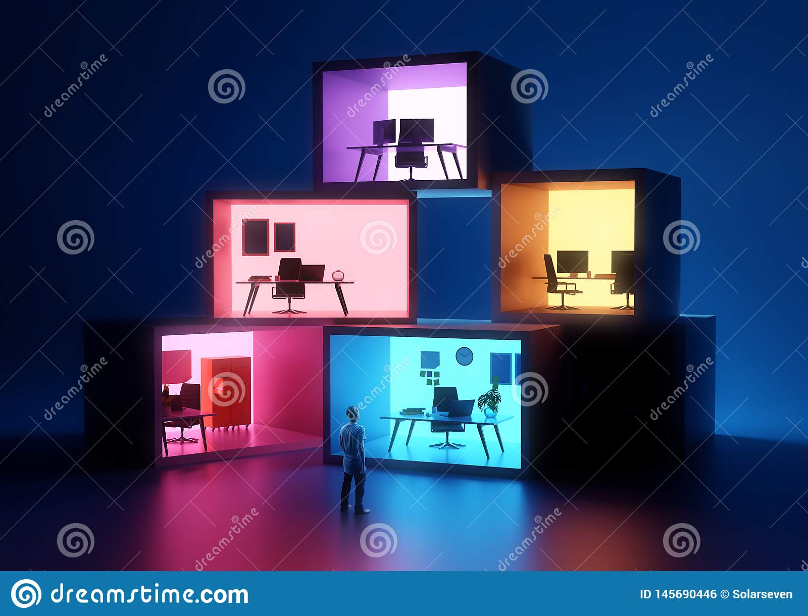 Business Office and Workplace Spaces