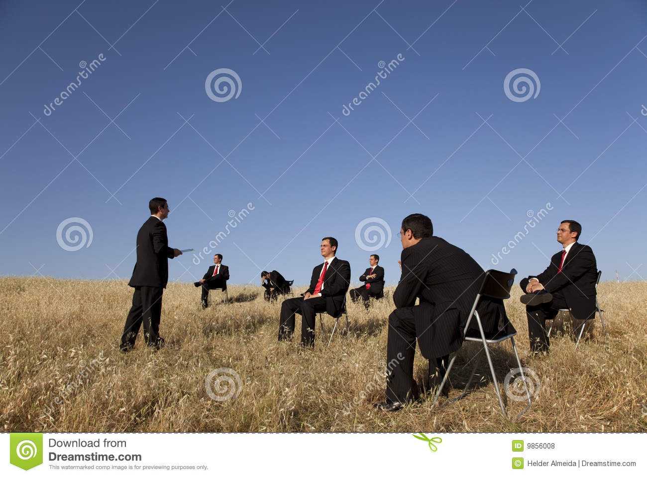 Business outdoor training