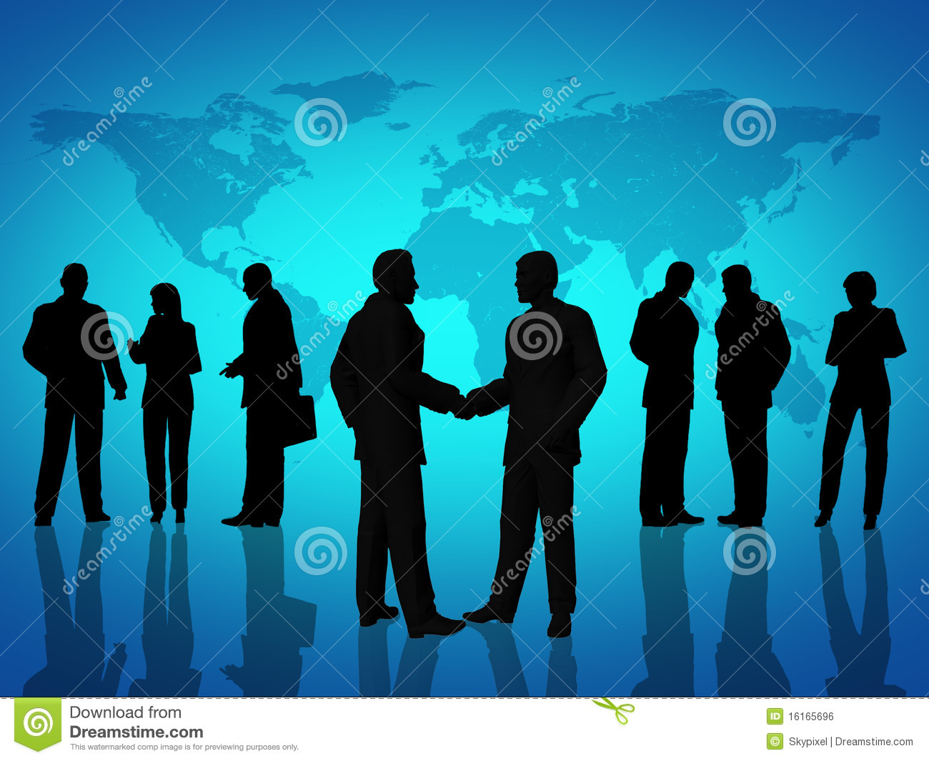 Business People Agreement Royalty Free Stock Image Image
