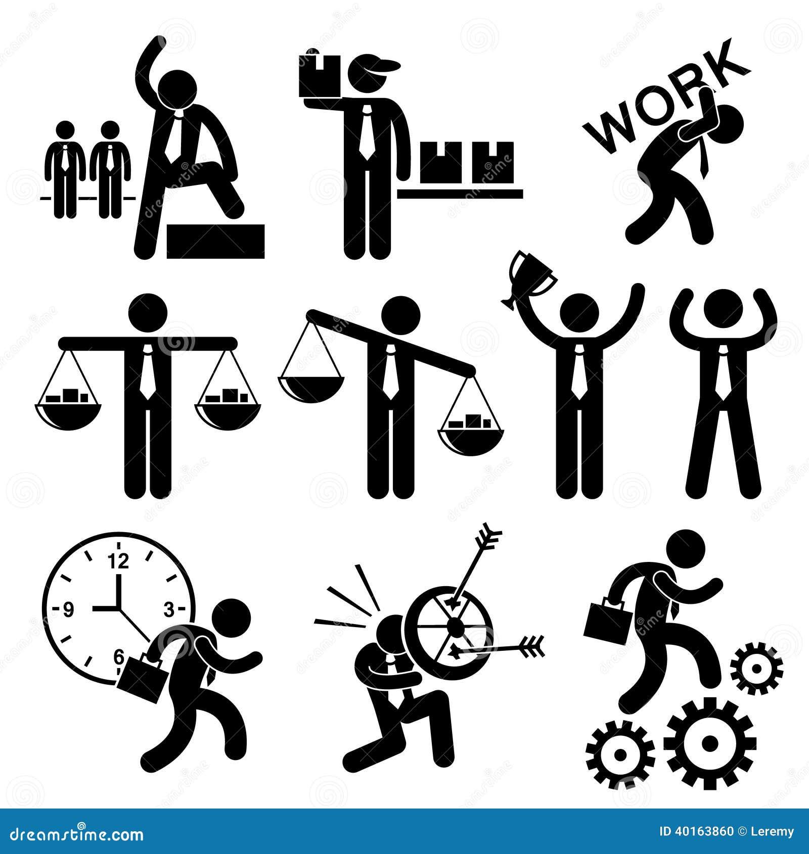 stick figure concept affaires icon businessman cliparts homme pictogram affari gens human gente uomo dell running vecteur shutterstock suit vector