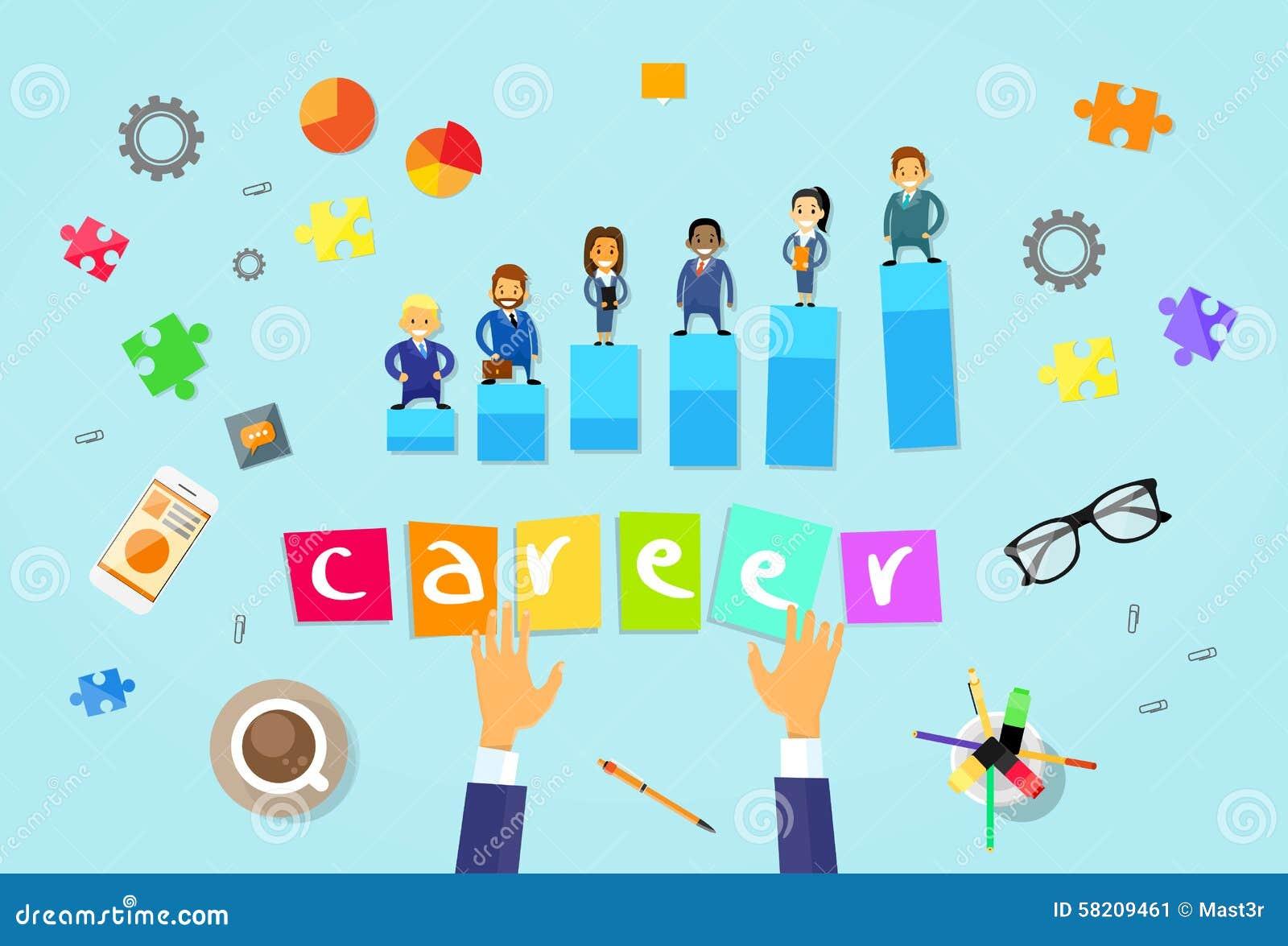 Business People Career Concept Cartoon Stock Vector Illustration Of Businesswoman Hiring 58209461