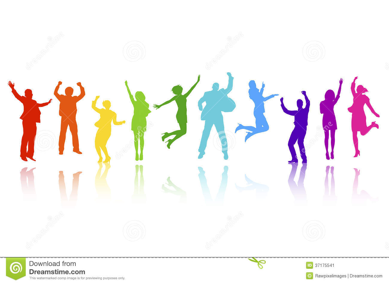 Business People Celebrating Vector Stock Vector - Image ...