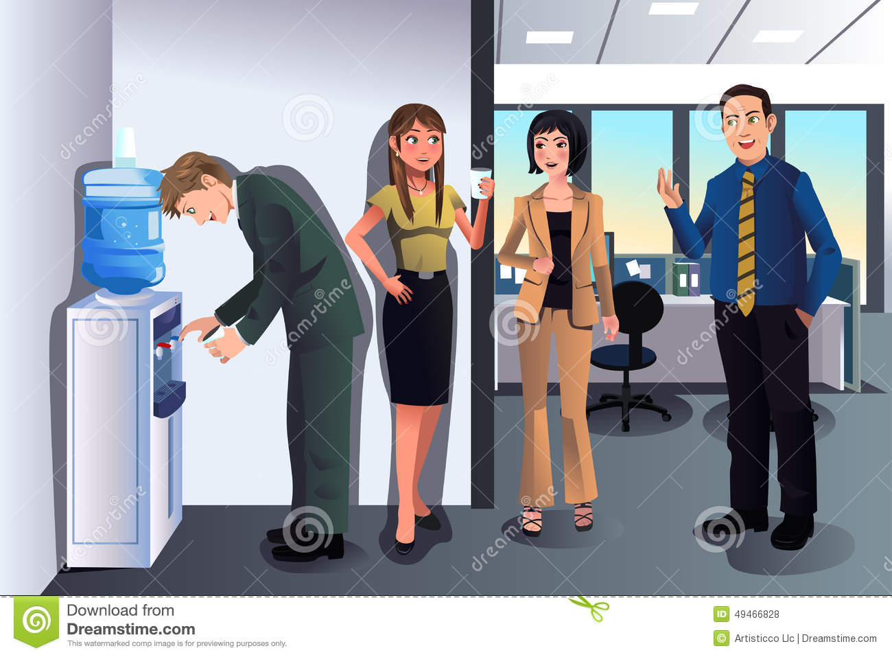 Office Water Cooler Clip Art – Cliparts