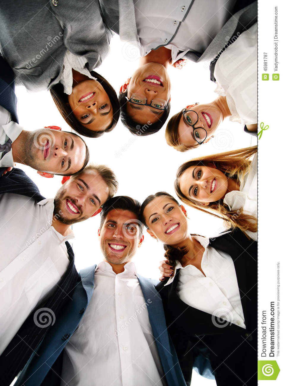 Business People Circle Looking Down Photos Free Royalty Free Stock Photos From Dreamstime