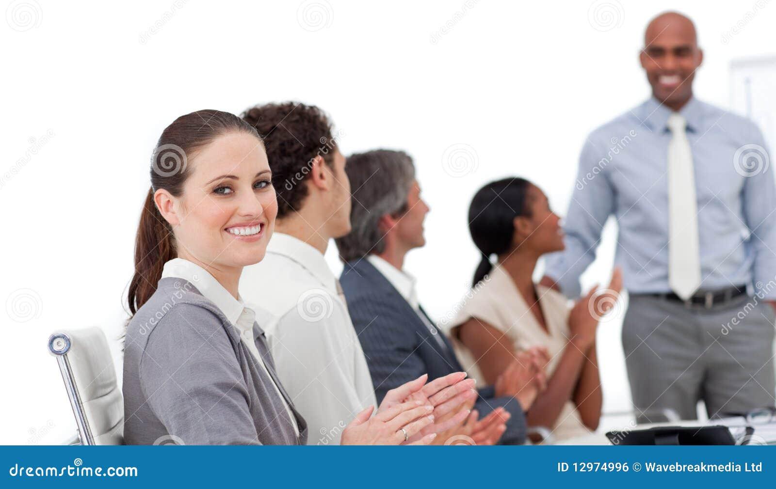 good business presentation