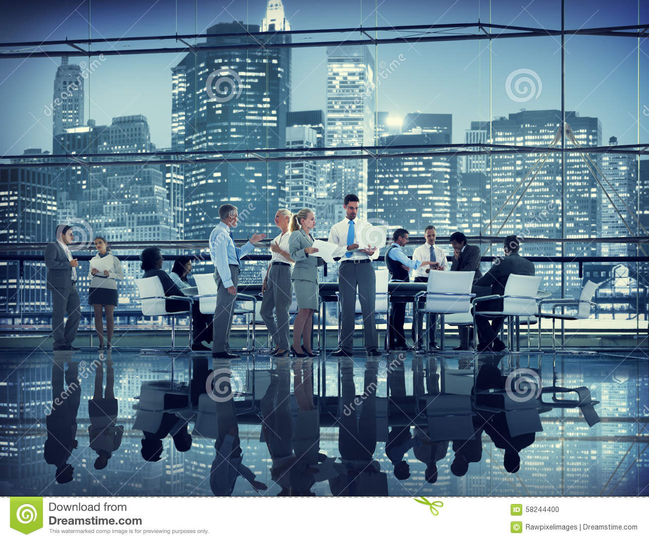 Business People Colleagues Teamwork Meeting Seminar Conference C ...