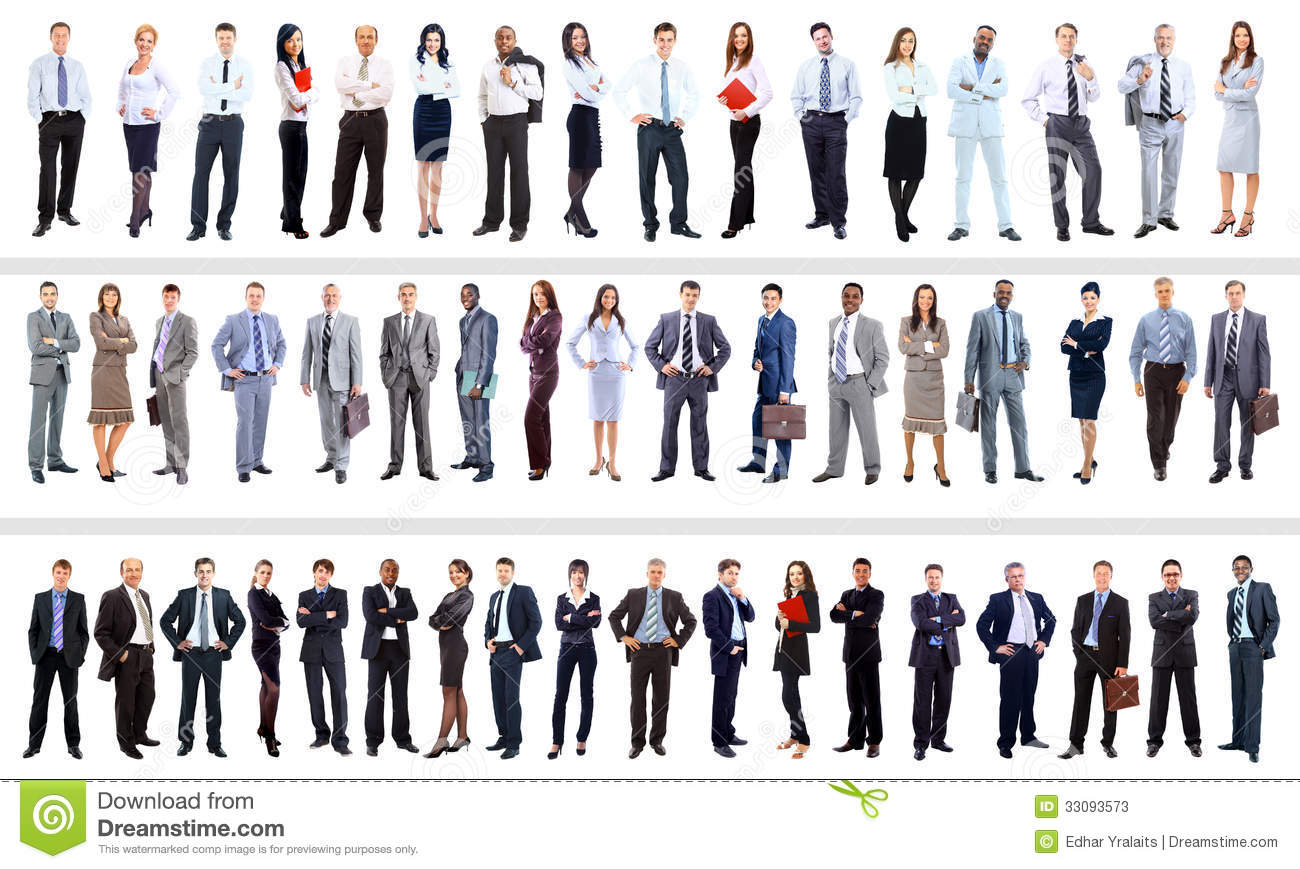 Stock Photos Business People Collection Full Length Portraits Image330...
