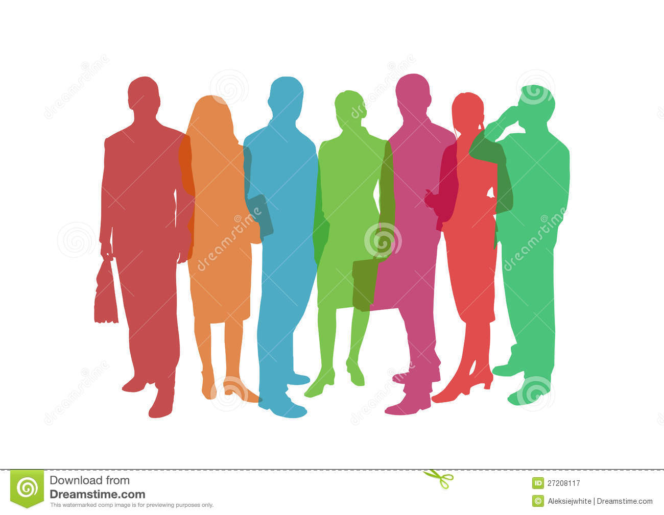 Business People Colorful Illustration Royalty Free Stock ... Colorful People