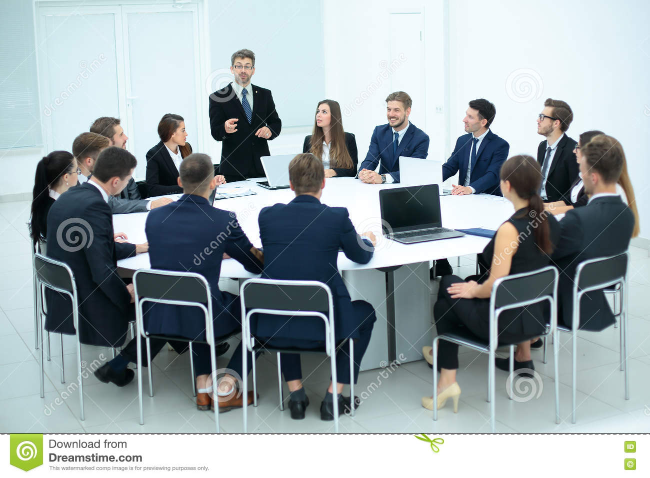 Conference Room Discussion