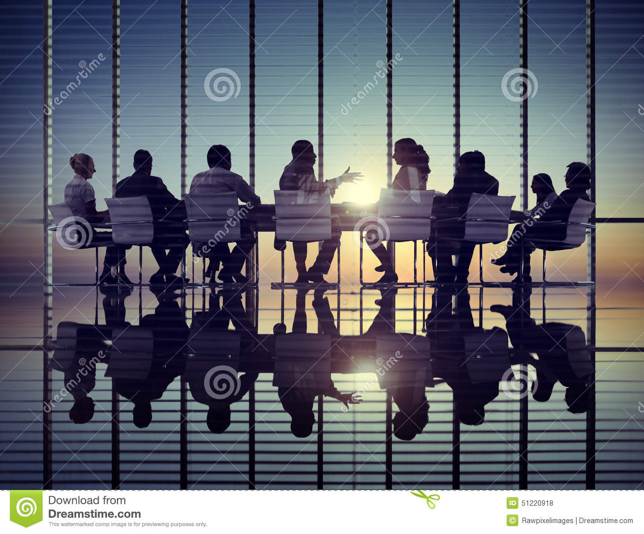 Business People Corporate Communication Meeting Office Concept