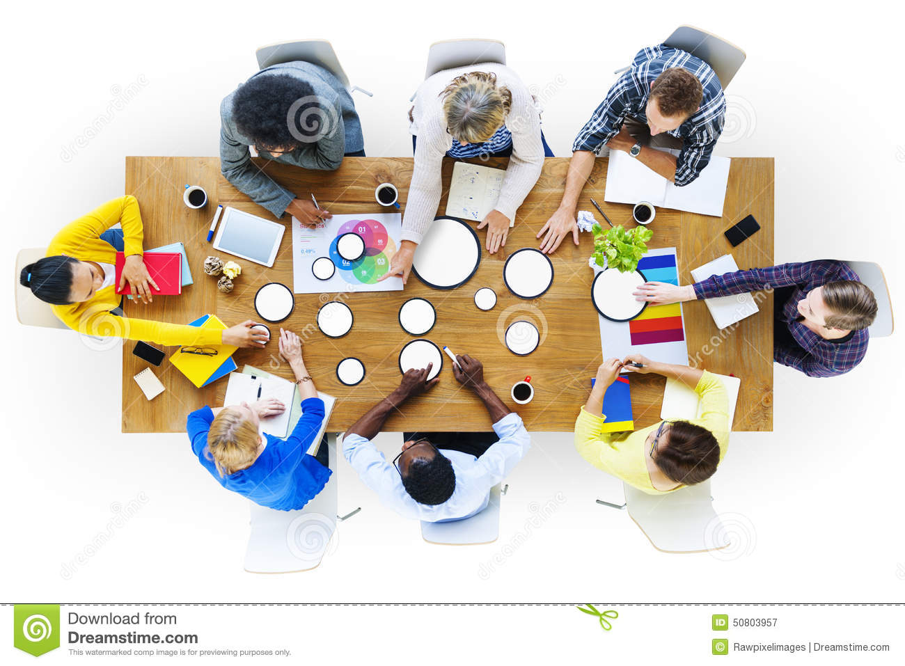 Business People Design Team Brainstorming Meeting Concept Stock Photo ...