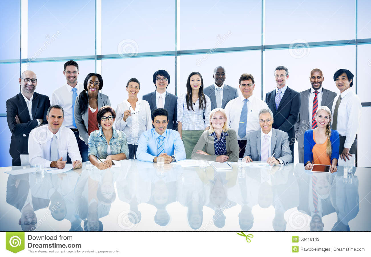 Business People Diversity Team Corporate Professional Concept