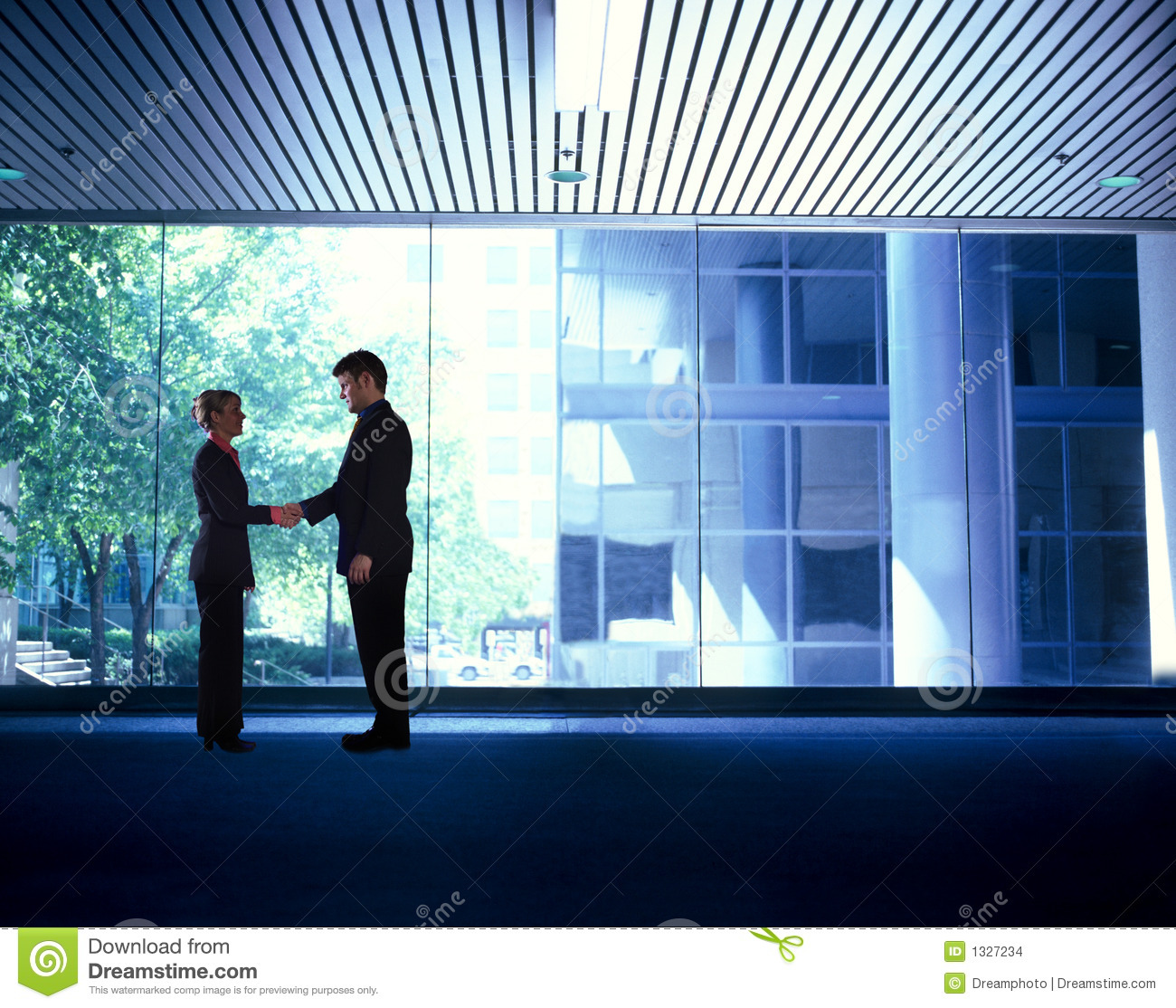 Business People Handshake Stock Images - Image: 1327234