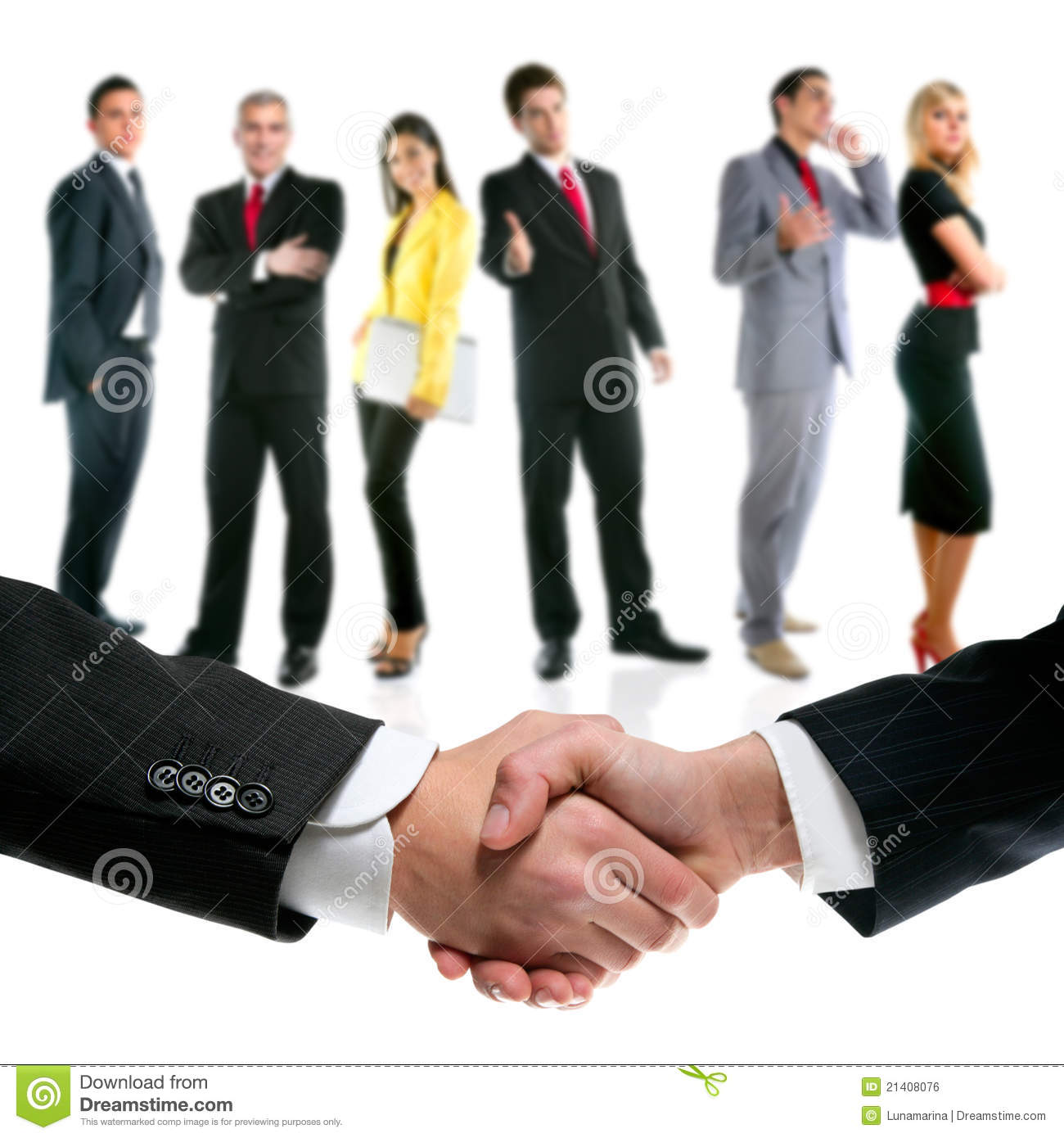 our company team presents stock photography image  business people handshake and company team royalty stock image