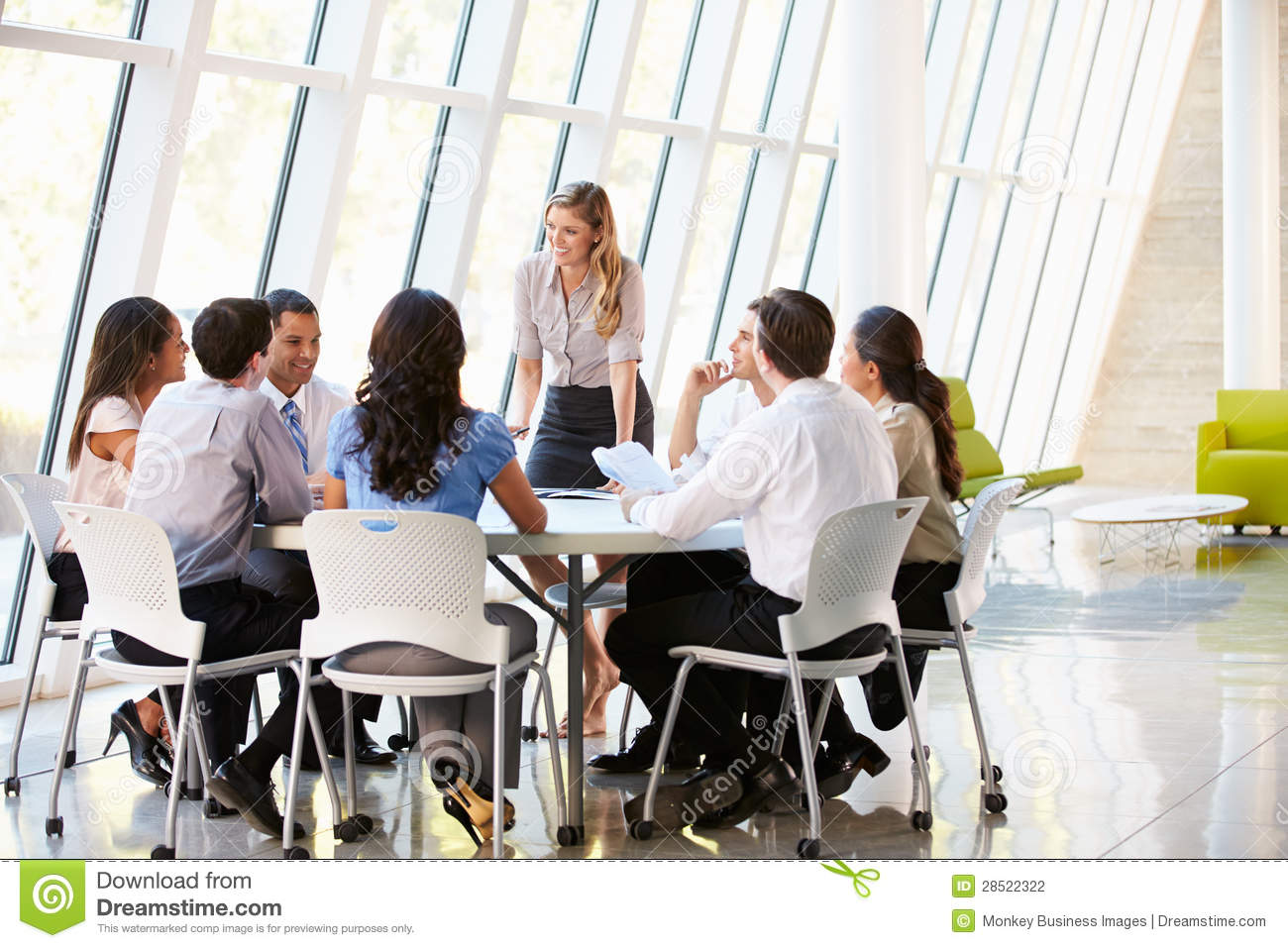 Male Only Business Board Room