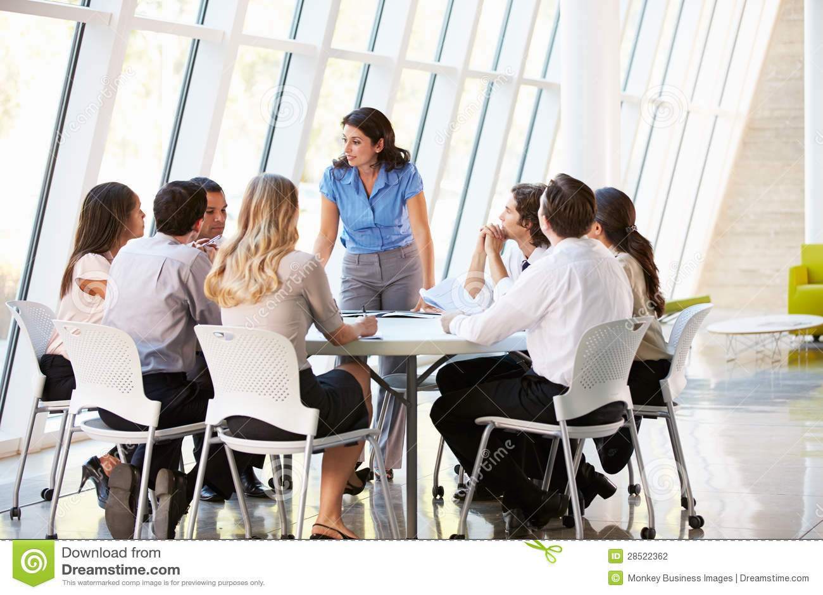 office meeting. board business meeting modern office a