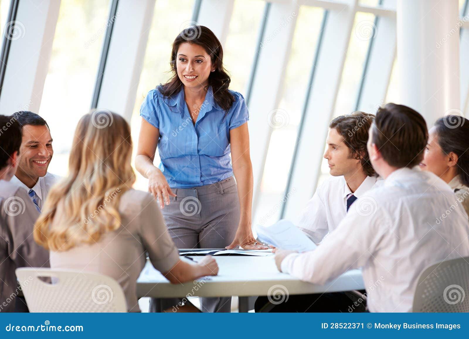 office meeting. board business meeting modern office