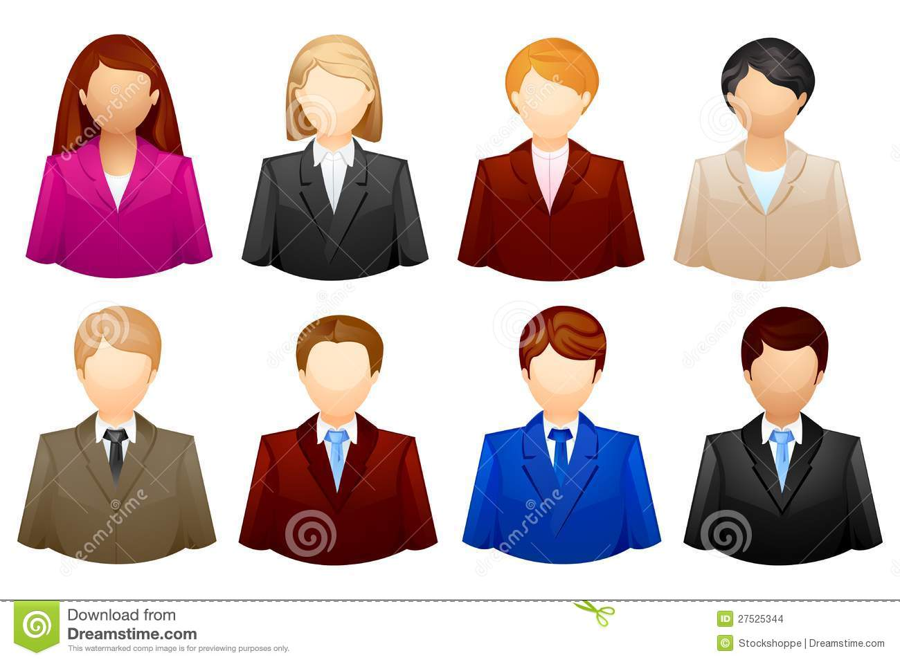 Business People Icon Png Set Business People icon