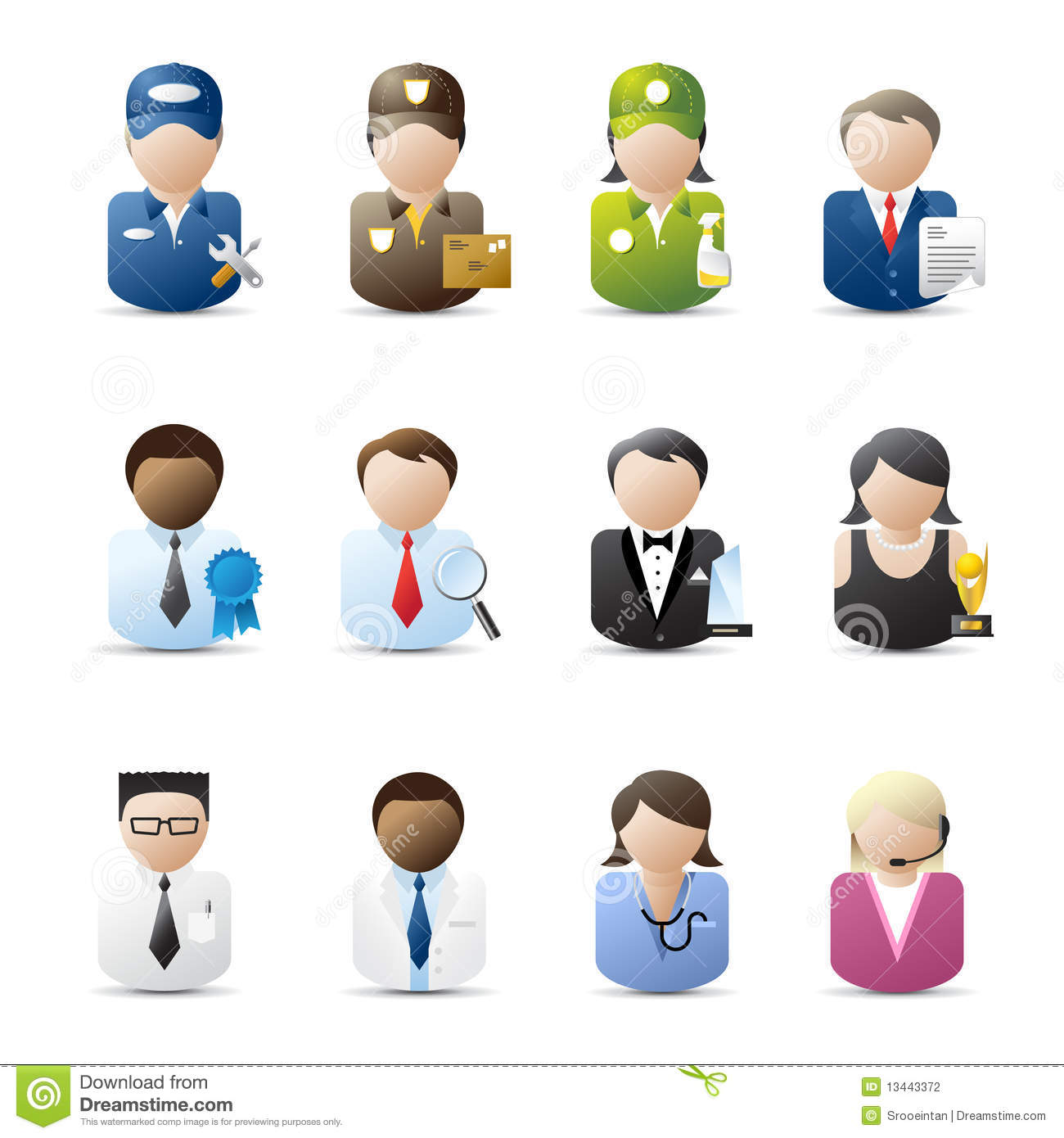 business people icons stock vector image of blue mail