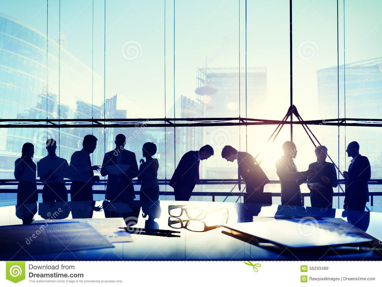 Business People Japanese Culture Bowing Respect Greeting