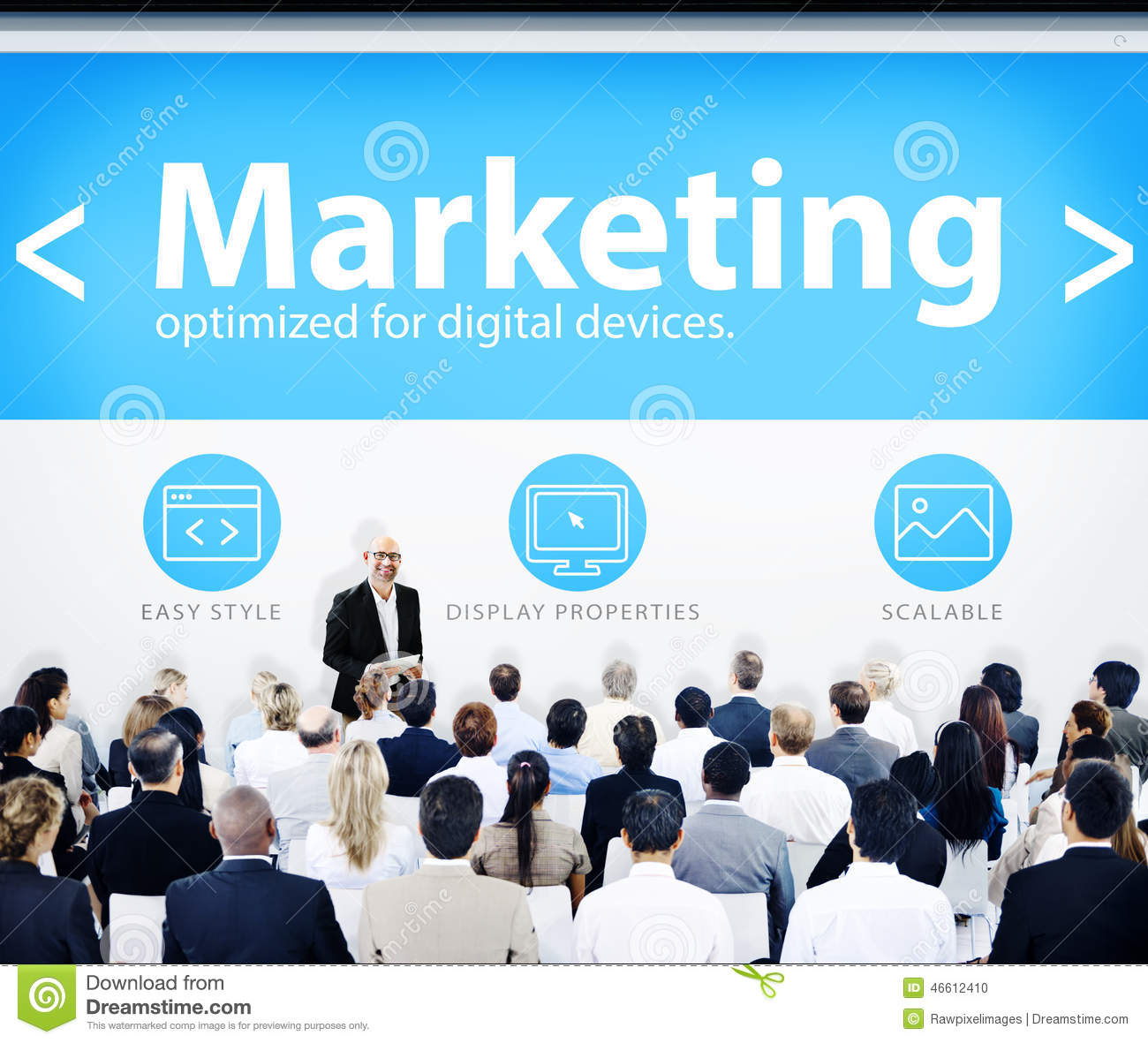Business People Marketing Presentation Concepts Photo – Marketing Presentation