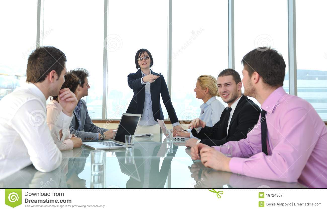 The gallery for --> Conference Room With People Clipart