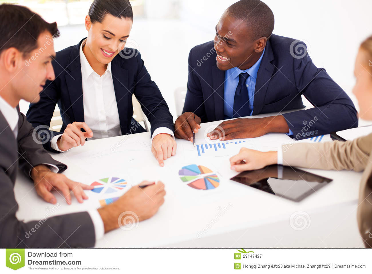 Business People Meeting Royalty Free Stock Photography ...