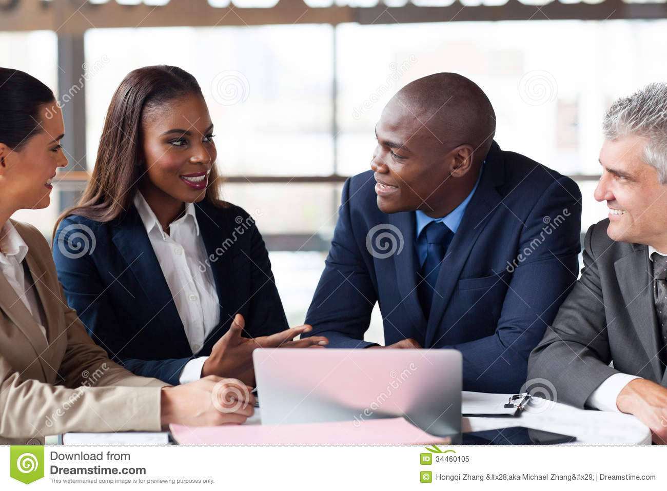 Business People Meeting Royalty Free Stock Photo - Image: 34460105