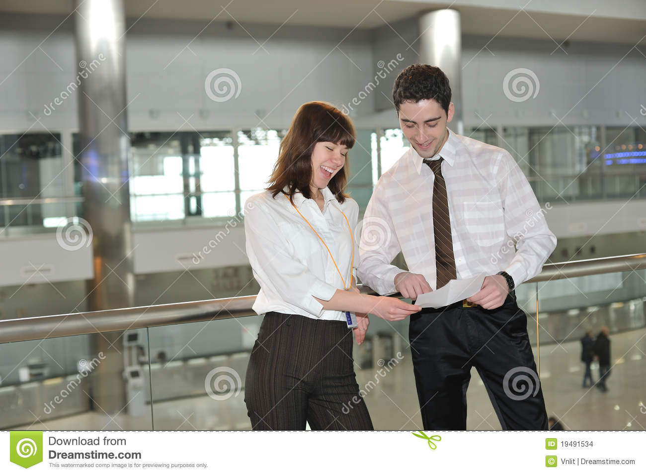 Business people in office environment