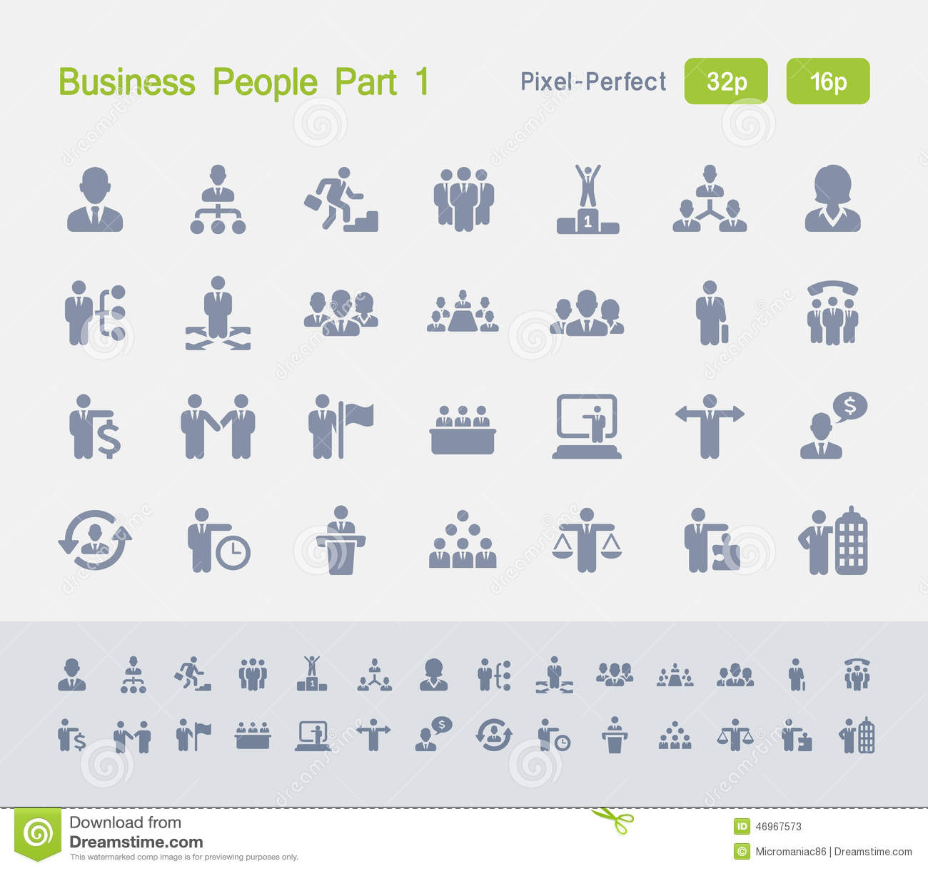 Business People Part 1 | Granite Icons
