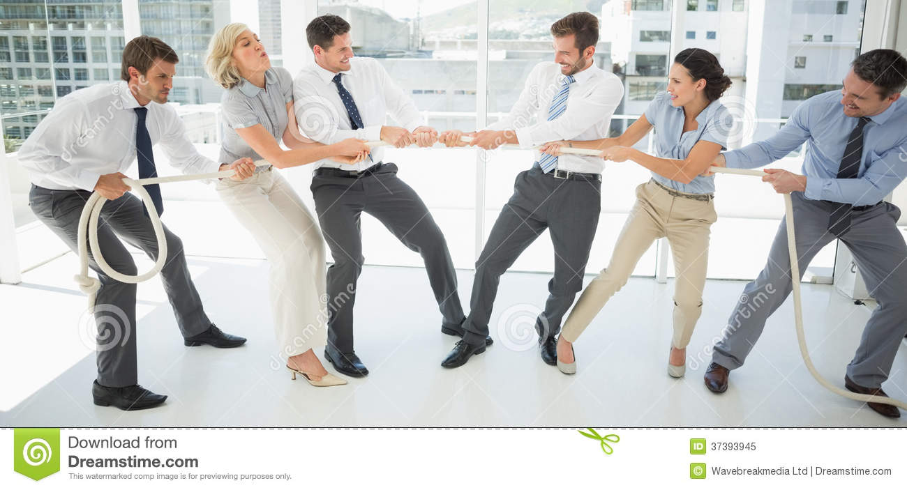 Of tug war business photograph adult