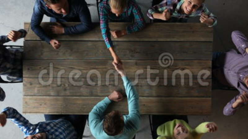 Business People Shaking Hands Stock Footage Video Of Cooperation