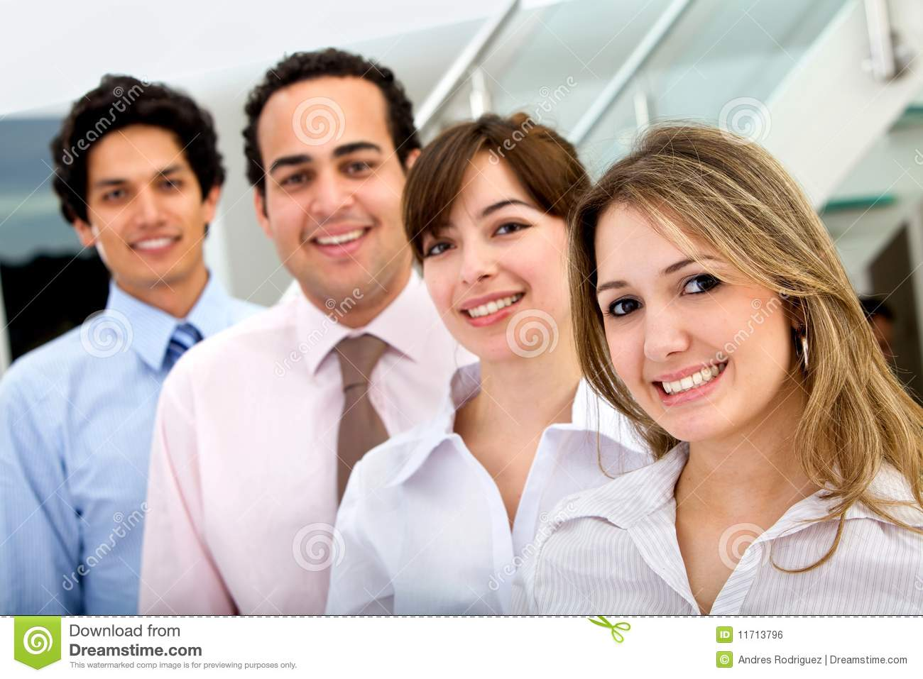 Business people smiling stock photo. Image of happy ...